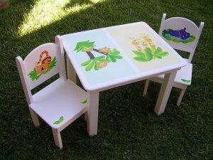Juego de mesas y sillas para ni os buenos aires avisos for Silla y mesa para ninos