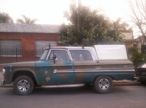 Dodge Ram Pickup 1972, Manual, 2,8 litres