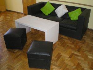 Vendo urgente muebles por mudanza en la plata juego de for Muebles de oficina la plata calle 57